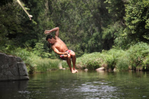 Elewana's Kitich Camp - River Swimming
